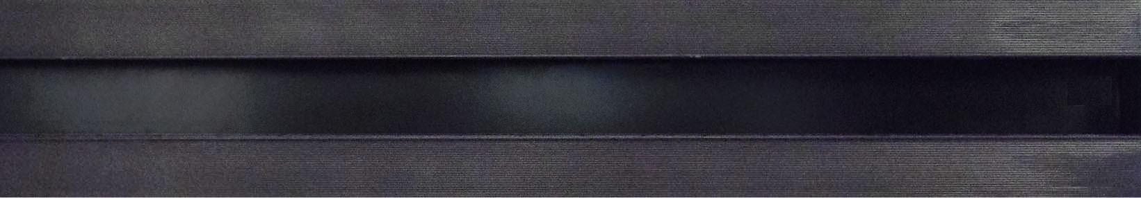 Hidden large volume slot diffuser for high ceiling