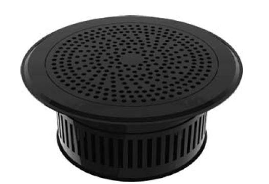 Perforated floor diffuser