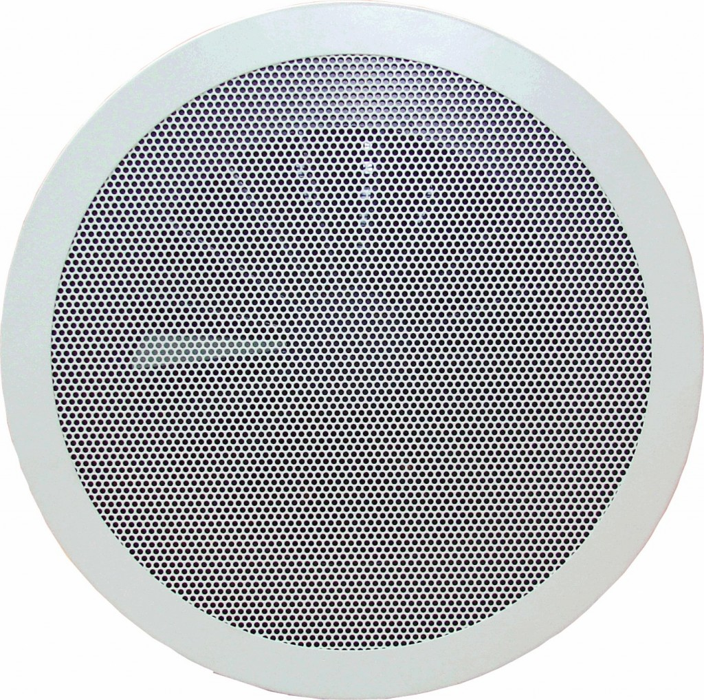 Swirl diffuser with Perforated face