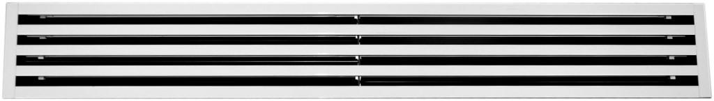 Slot diffusers with adjustable multi-deflectors