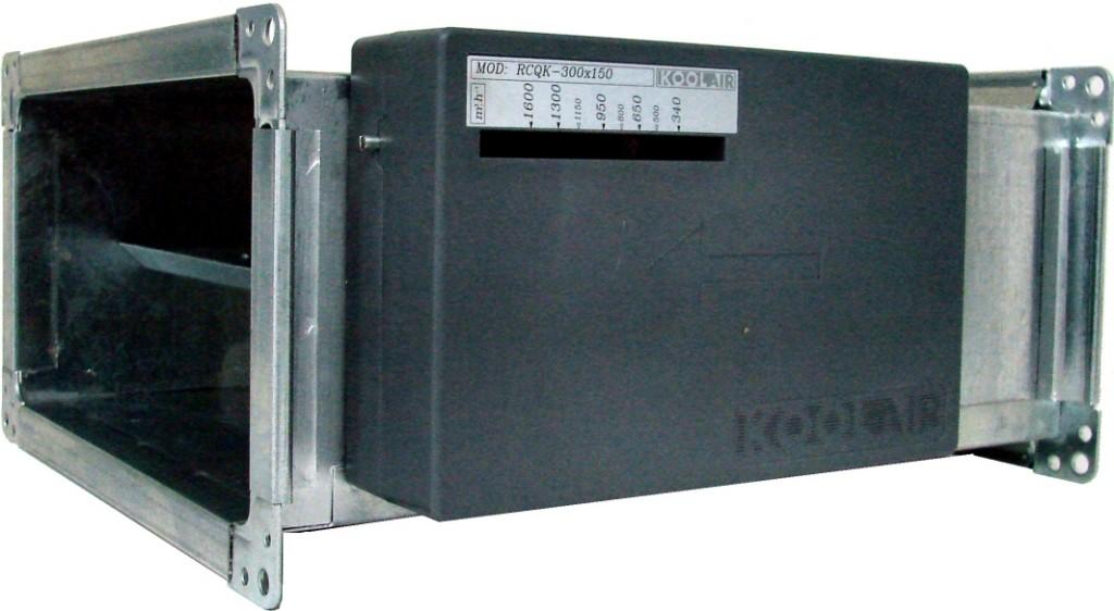 Adjustable rectangular constant volume regulator
